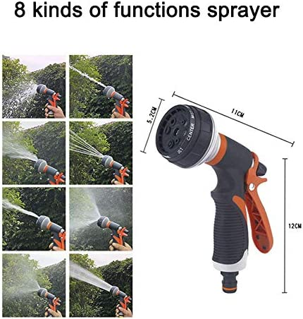 BEPM Expandable Garden Hose Hose Spray Water Nozzle Gun Garden Expandable Hose Pipe Water Hose Magic Hose Flexible Watering Hose Car Washing Hose Plastic With Spray Gun-150Ft