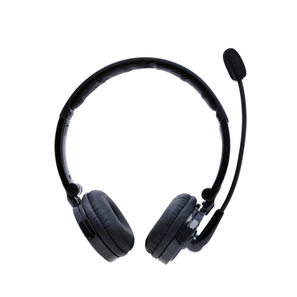 Auriculares Bluetooth Con Mic Yamay Inalambrico Bluetooth Headset Cancelacion De Ruido Con Boom Microfono On-ear Phone H