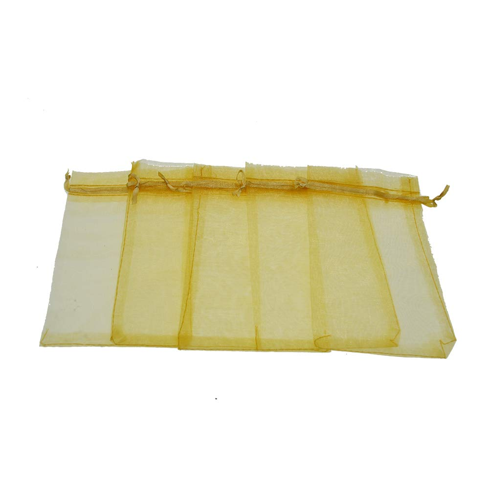 AsentechUK® 100 Bolsas de Organza de 20 cm x 30 cm para ...