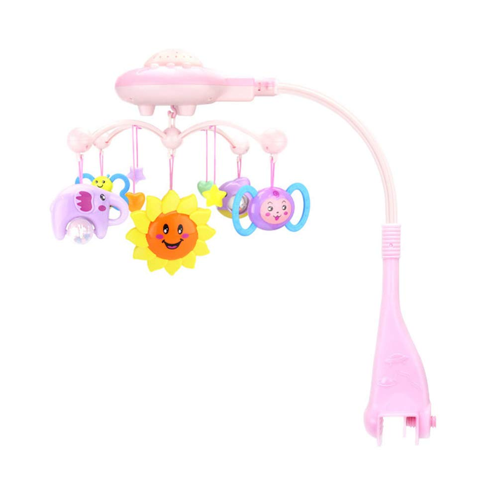 Zantec Giostrine acchiappasogni, Giostra Musicale, sonagli del giocattolo Letto Campana musicale campane girevoli con giocattoli a sonaglio appesi
