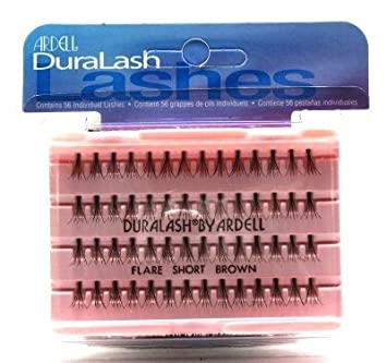 59e56fd1466 Amazon.com : Ardell Duralash Flare Short Brown (56 Lashes) (Case of 6) :  Beauty