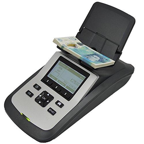 Tellermate Tix Money Counting Scales, Plastic, Black