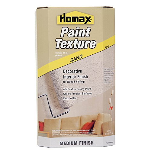 Roll On Paint Additive, Mixes with 1 gal of Paint, Sand Texture, Decorative Paint Mix