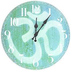 ORIENTAL Furniture Om Wall Clock