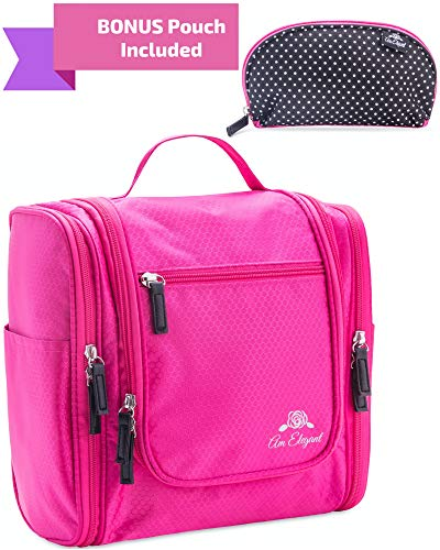 Premium Cosmetic Bag By AmElegant - Spacious Women And Men T
