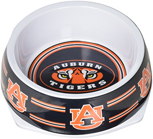 Sporty K9 Collegiate Auburn Tigers Pet Bowl, Large