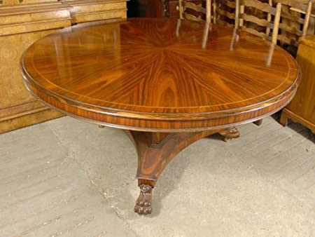 Wondrous English Victorian 5 Foot Round Dining Table In Rosewood Download Free Architecture Designs Xoliawazosbritishbridgeorg