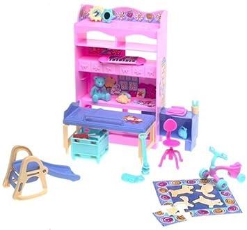 Mattel Barbie Kelly Schlafzimmer Spielset alle um Home Serie: Amazon ...