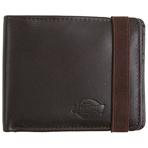 Dickies Wilburn Leather Wallet - Brown