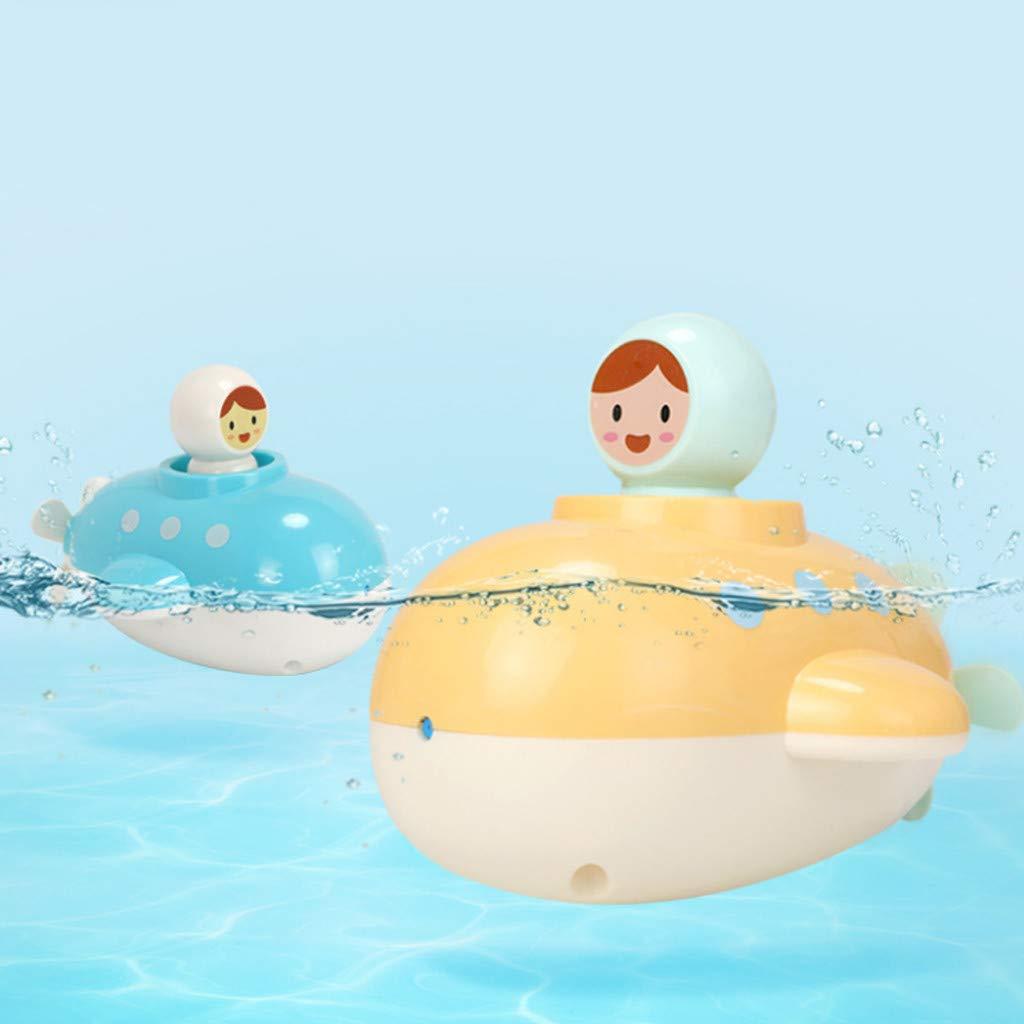 SKays NEU 2019დდDrôle bébé sous-Marin de Bain Jouet Enfants mécanique de l'eau Jouer à la Salle de Bain Jouets (Bleu)