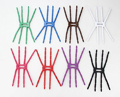Ship by USPS-10Pcs Multicolor Universal Multi-function Portable Transformers Spider 8 Feet Octopus Flexible Grip Smartphone Smart Phones GPS Car Bicycle Bike Desk Plane Cup Book Support Cell Mobile Phone Holder Cradle hanging Mount and Stand for iPod iPho by ANGELANGELA