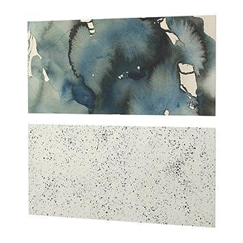 IKEA LYSEKIL Wandpaneel doppelseitig; Wolken/Punkte ...