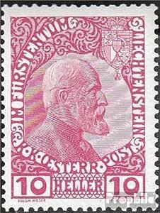 Prophila Collection Liechtenstein Michel.-No..: 2X 1912 Sello de ...