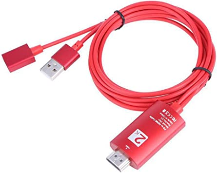 iodvfs - Cable Adaptador de USB a HDMI para proyector de vídeo Smart TV: Amazon.es: Electrónica
