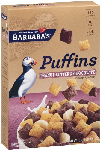 Barbaras Bakery Fat (BARBARAS CEREAL PUFFINS PNUT BTR CHOC, 10.5)