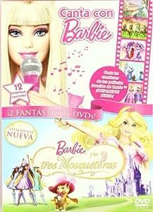 Pack Canta Con Barbie + Las 3 Mosquetera [DVD]