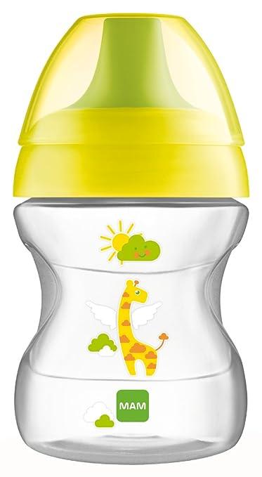 23 opinioni per MAM Babyartikel, Tazza antigoccia per l'apprendimento, 190 ml, Giallo (gelb)