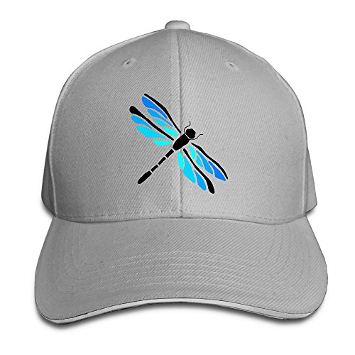 Macevoy Dragonfly Gift Casual Unisex Unstructured Cotton Cap Adjustable Baseball Hat Cap Ash (Mothera Day Gifts)