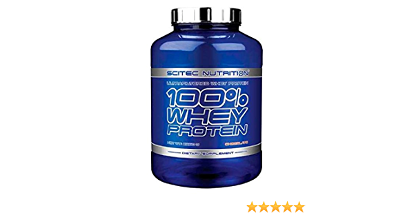 SCITEC Nutrition 100% Whey Protein - 2,35 Kg Tiramisu