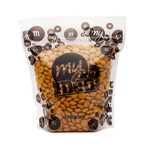 Gold M&M'S Bulk Candy Bag (5lb)