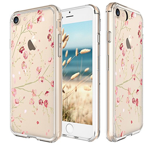 iphone-7-case-47-inch-cinocase-peach-blossom-flower-floral-pattern-clear-case-solid-acrylic-hard-bac