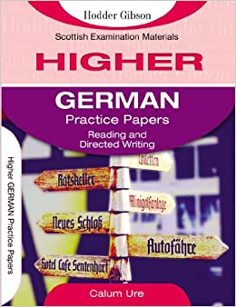 Higher German: Reading and Directed Writing