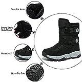 GUBARUN Boys Snow Boots Winter Waterproof Slip