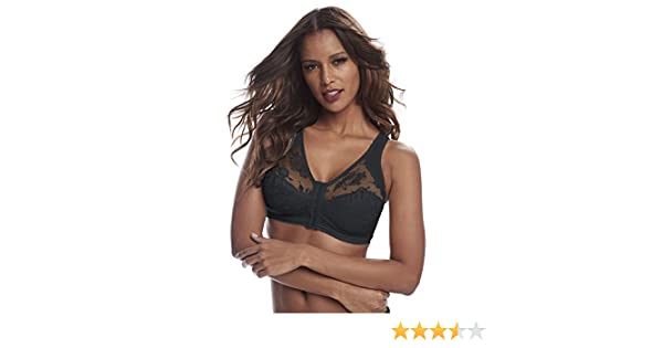 Cortland Intimates Style 9605 - Front Closure Back Support Bandeau Bra at  Amazon Women s Clothing store  d30809b0a