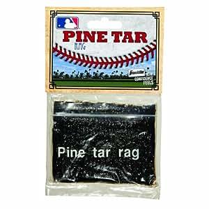 Franklin Sports Baseball And Softball Pine Tar Rag Batters Grip