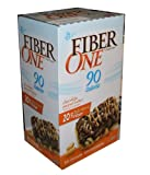 Fiber One Chewy Bars Chocolate Peanut Butter 90 Calorie Bars 30 Count Box