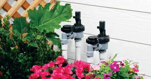 Toro 53763 3/4-Inch Anti-Siphon Jar Top Underground Sprinkler System Valve with Flow Control