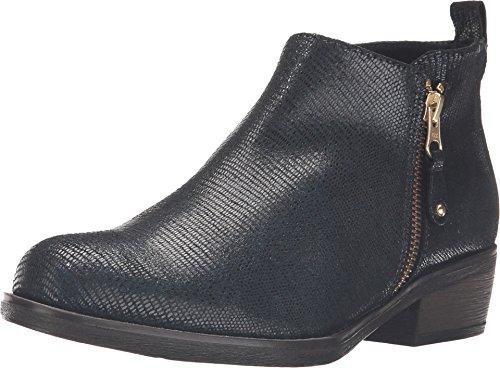 Eric Michael Kvinnor, London Låg Klack Boots Blå Ödla