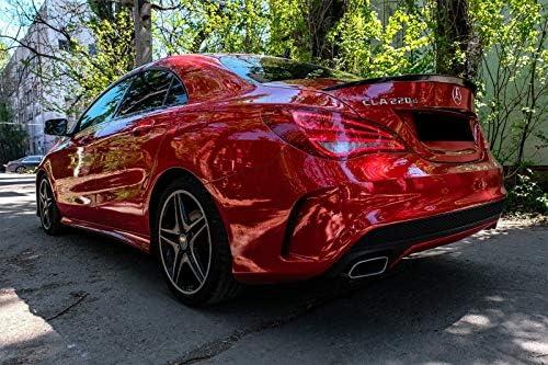 Spoiler per bagagliaio KITT TSMBW117AMGPB colore nero lucido design AMG