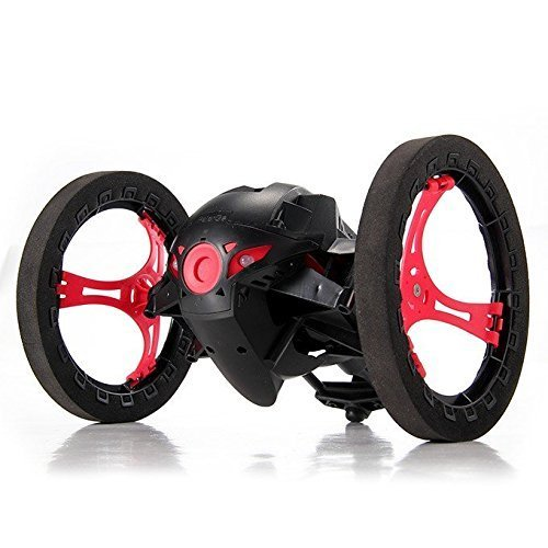 SainSmart Jr. Smart-Bounce Jump Stunt Car mit flexiblen Rädern (Schwarz)