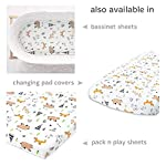 Cuddly-Cubs-Baby-Crib-Mattress-Sheet-Fitted-Crib-Sheet-for-Boys-Girls-Toddler-Unisex-Jersey-Knit-Cotton-Baby-Sheet-for-Crib-Woodland-Top-Quality