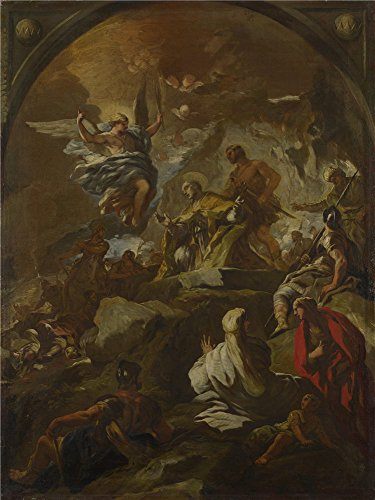 [Oil painting 'Luca Giordano The Martyrdom of Saint Januarius ' printing on high quality polyster Canvas , 8 x 11 inch / 20 x 27 cm ,the best Laundry Room gallery art and Home gallery art and Gifts is this Best Price Art Decorative Prints on] (Animals That Begin With S)