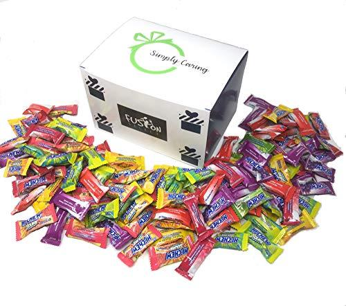 Morinaga Hi - Chew 7 Flavors Hi Chew 220+ Individually Wrapped Assorted Hi Chew Green Apple, Grape, Strawberry, Mango, Lemon, Grapefruit, Lime or Watermelon