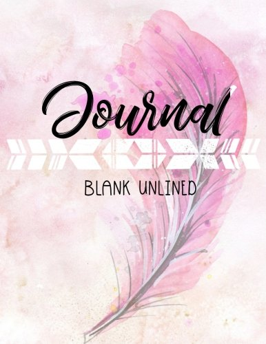 Journal Blank Unlined: 8.5 x 11, 120 Unlined Blank Pages For Unguided Doodling, Drawing, Sketching & Writing