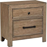 Samuel Lawrence Flatbush 2 Drawer Nightstand in Brown