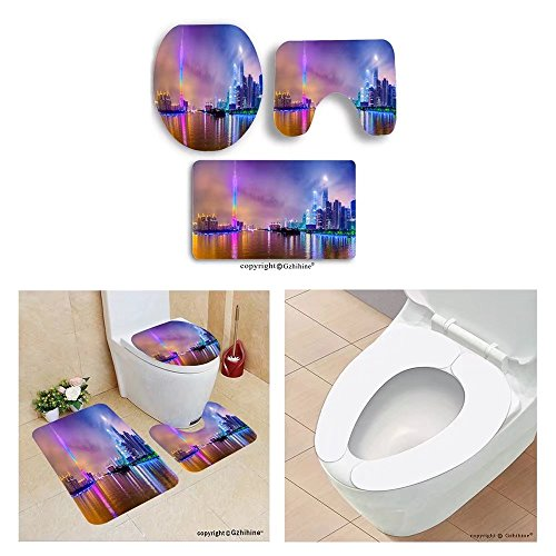 Party City Mermaid Costumes (Gzhihine custom toilet seat three-piece guangzhou china city skyline panorama on the)