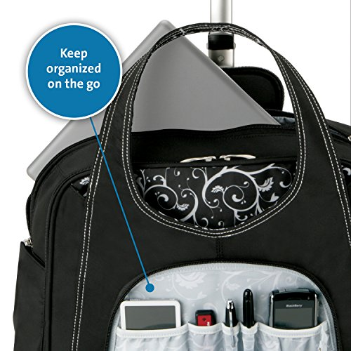 Kensington K62533US Contour Balance Notebook Roller Bag in Onyx, Fits Most 15-Inch Notebooks by Kensington (Image #4)