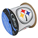 PITTSBURGH STEELERS RIBBON-PITTSBURGH STEELERS HAIRBOW RIBBON, CRAFTING RIBBON, GIFT WRAP RIBBON-2 1/2'' WIDTH-NFL RIBBON