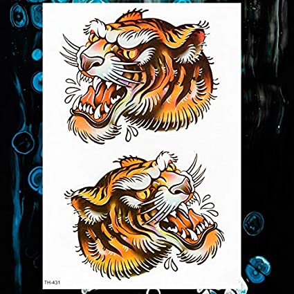 lihaohao Impermeable Etiqueta Engomada del Tatuaje Temporal ...