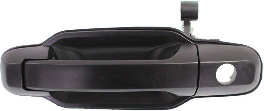 For 03-09 Kia Sorento Primed Black Front Left Outside Exterior Door Handle