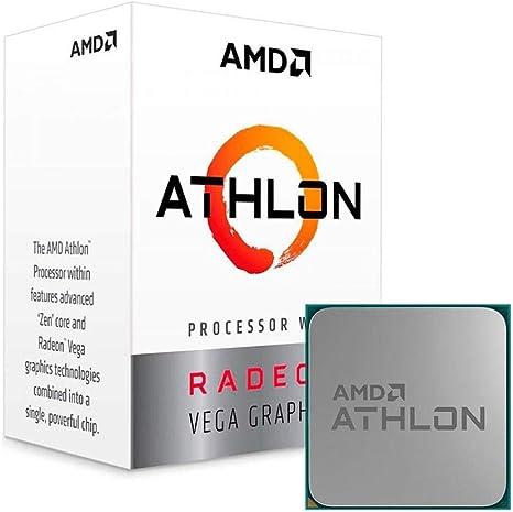 Amazon Com Amd Athlon 240ge With Radeon Vega Graphics Processor Computers Accessories
