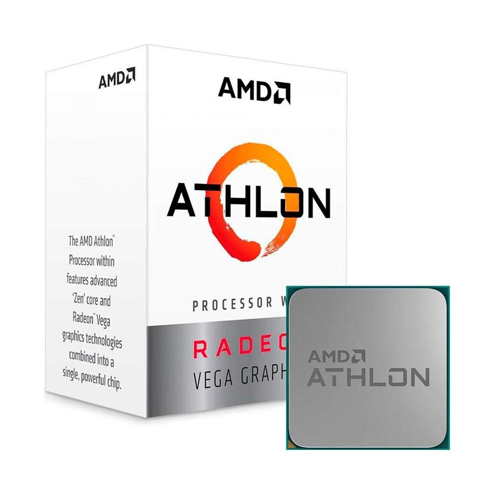 AMD Athlon 240GE con Radeon Vega Graphics