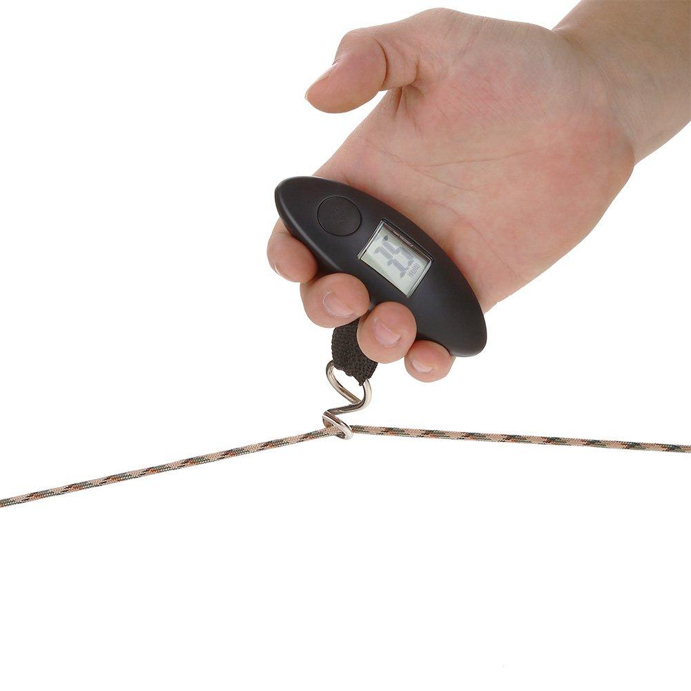 SolUptanisu Bogenwaage tragbare Digitale Bogenwaage Handheld Bogen H/ängewaage 88lbs-Werkzeug mit LCD-Anzeige f/ür Compound-Bogen Recurved-Bogen Bogenschie/ßen Zubeh/ör