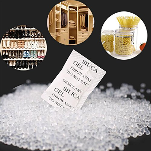 150pcs Silica Gel Desiccant silica gel packets desiccant moisture absorber Absorb Moisture Multipurpose Drying Agent Bags