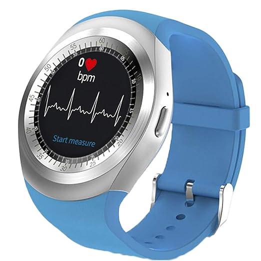 POJIETT Pulsera Monitor de Actividad Pulsómetro y Podómetro para Mujeres Reloj Inteligente Mujer Hombre Niño Niña Android iOS Relojes Deportivos con ...