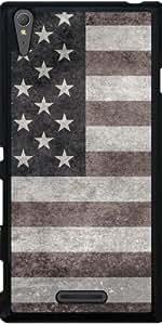 Funda para Sony Xperia T3 - Bandera Americana Estilo Retro by BruceStanfieldArtist